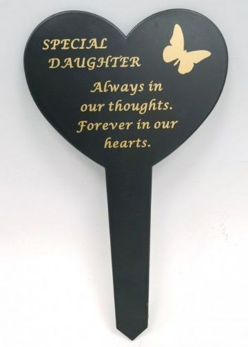 Graveside Memorial Butterfly Stake SPECIAL DAUGHTER DF17917I